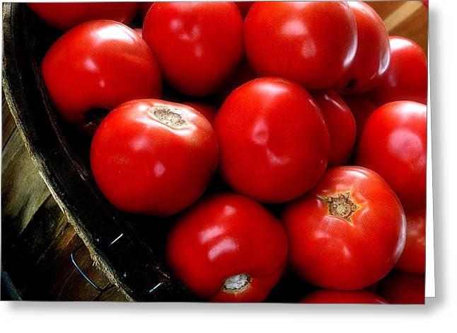 Local Food Greeting Cards - Ripe n Ready Greeting Card by Michael Shreves