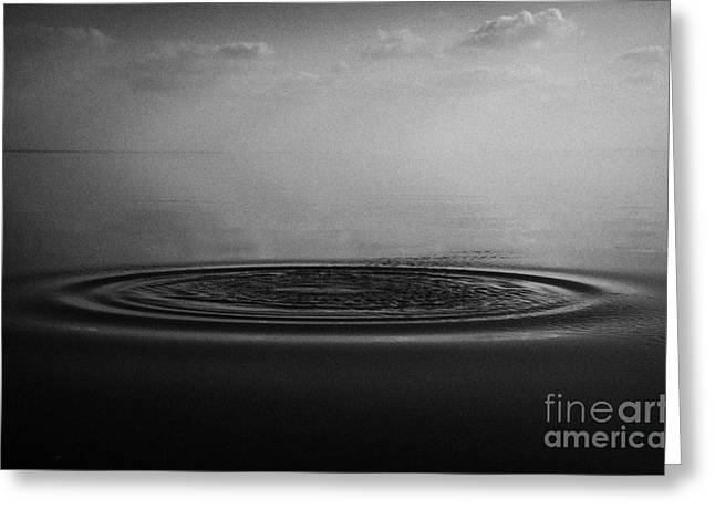 Warm Summer Greeting Cards - Ripples On Still Lough Neagh County Antrim Northern Ireland Greeting Card by Joe Fox