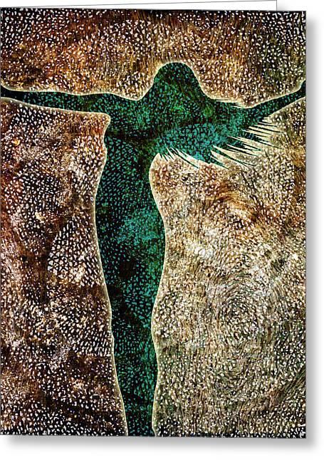 Divine Feminine Greeting Cards - Rise Of The Divine Feminine Greeting Card by Jaison Cianelli