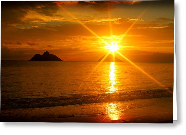 Brian Governale Greeting Cards - Rising Sun Greeting Card by Brian Governale