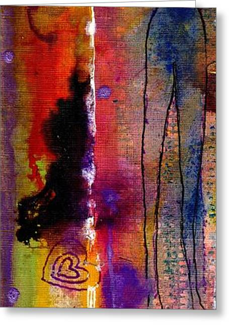 Creative People Greeting Cards - Rising to the Challenge Greeting Card by Angela L Walker