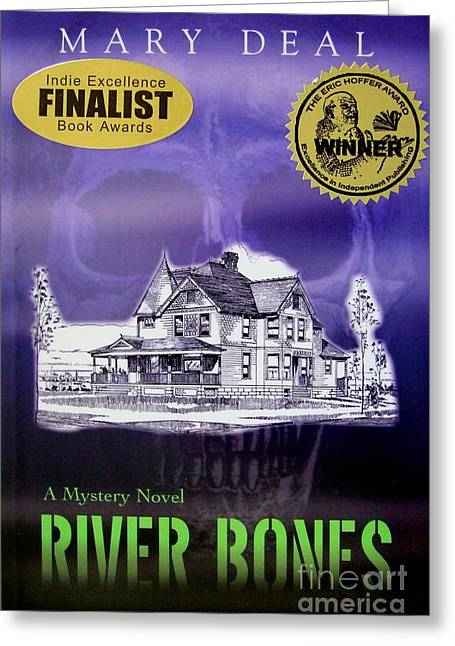 Award Winning Art Greeting Cards - River Bones Greeting Card by Mary Deal
