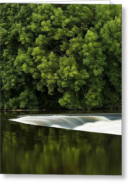 River Boyne, County Meath, Ireland Greeting Card by Peter McCabe