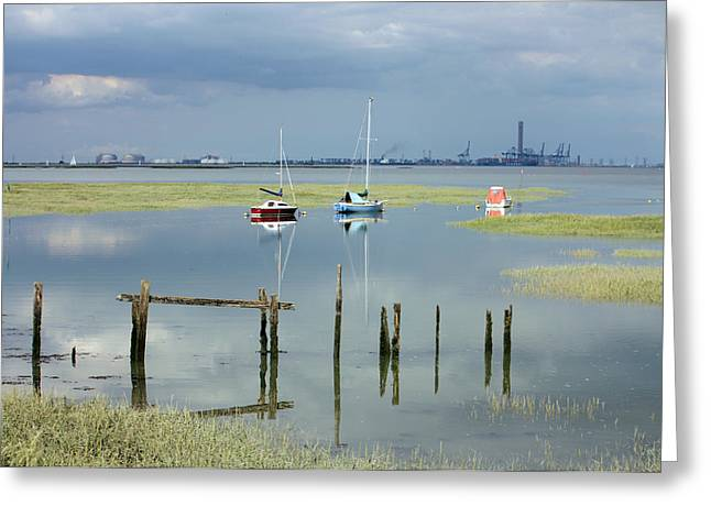 River Medway Greeting Cards - River Medway Greeting Card by Dawn OConnor