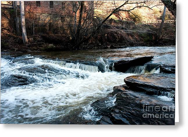 Sale Printing Greeting Cards - River Mill 2 Greeting Card by Michael Waters