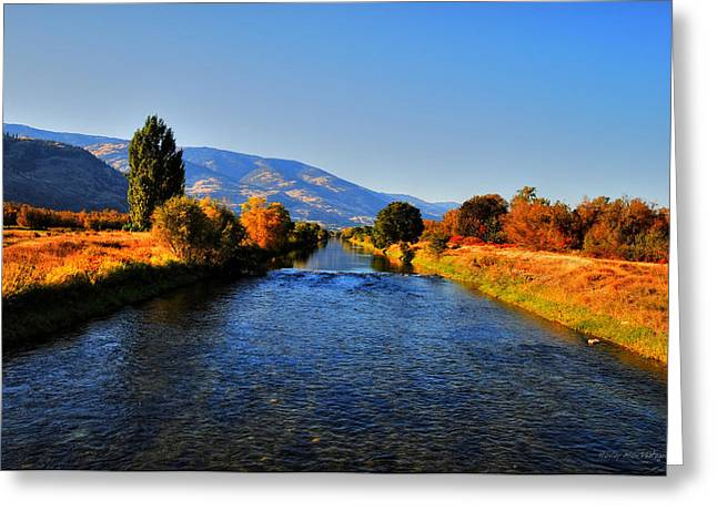 Wesley Allen Photography Greeting Cards - River of Dreams Greeting Card by Wesley Allen Shaw