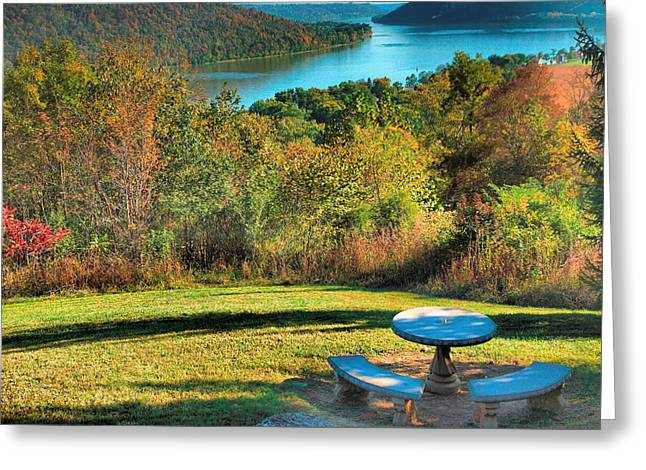 Indiana Photography Greeting Cards - River View IV Greeting Card by Steven Ainsworth