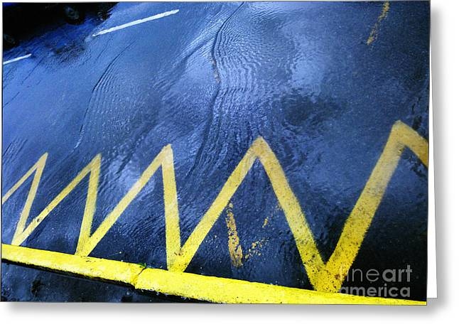 Abstract Movement Greeting Cards - Road Greeting Card by Inessa Burlak