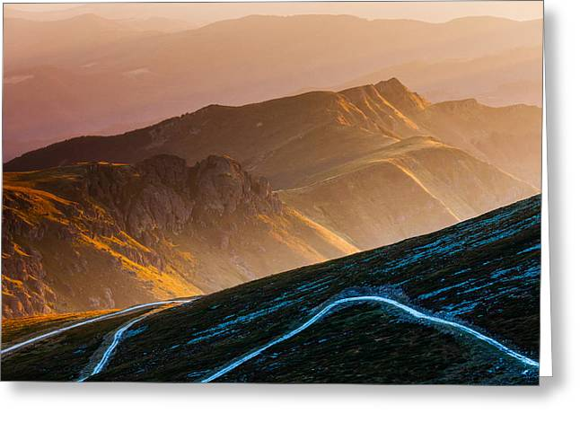 Road To Middle Earth Greeting Card by Evgeni Dinev
