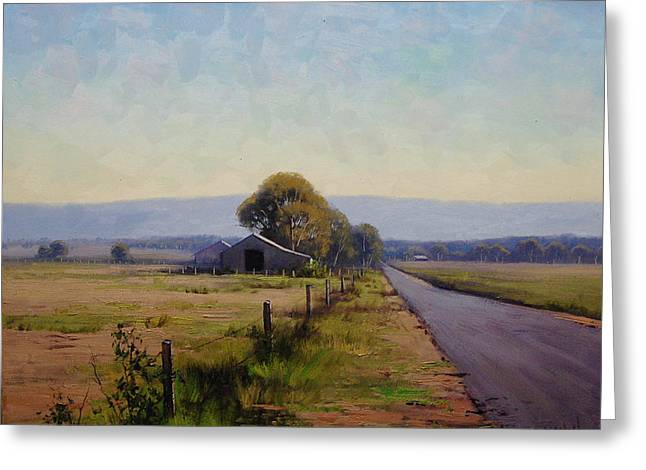 Road To Richmond Greeting Card by Graham Gercken