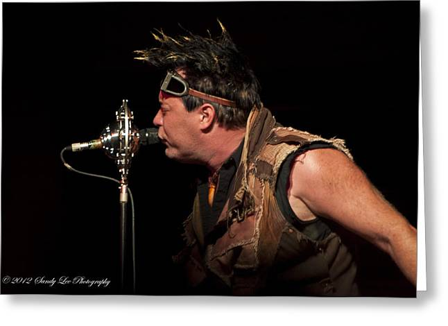 Abney Park Greeting Cards - Robert Brown of Abney Park Greeting Card by Sandra Sykes