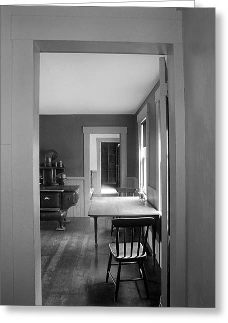 Pulitzer Prize Greeting Cards - Robert Frost House Greeting Card by Jan Faul