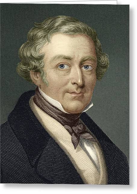 Reform Greeting Cards - Robert Peel, British Prime Minister Greeting Card by Sheila Terry
