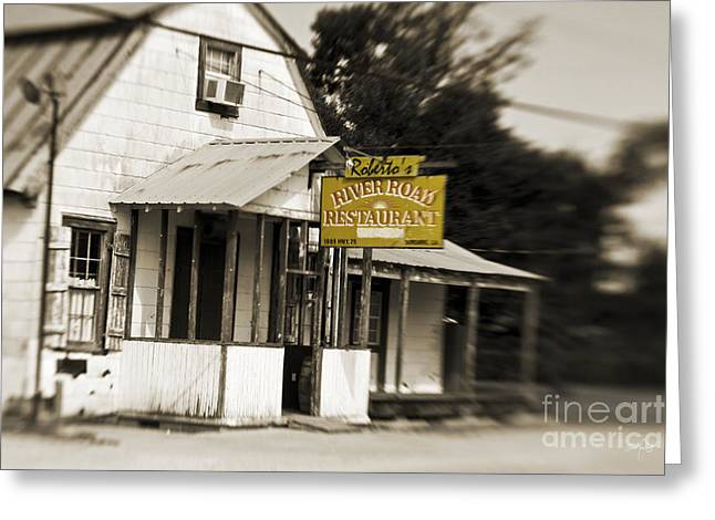 Baton Rouge Greeting Cards - Robertos Greeting Card by Scott Pellegrin