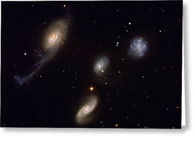 Roberts Quartet Greeting Card by European Southern Observatory