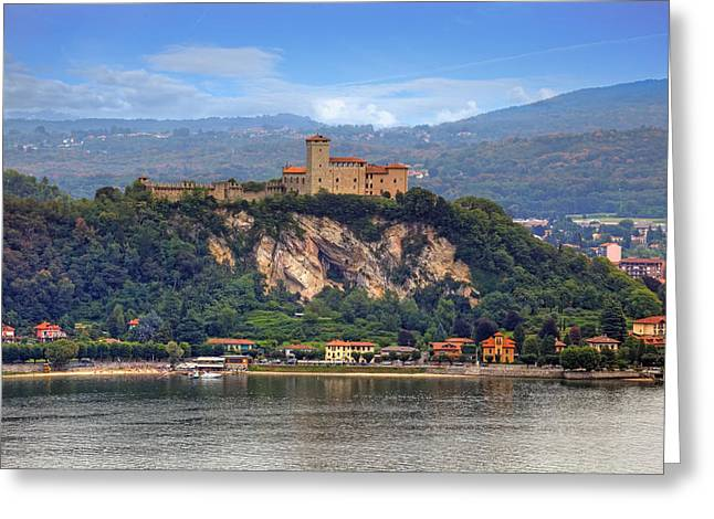 Rocca Borromeo Di Angera Greeting Card by Joana Kruse