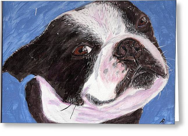 Arthur Rice Greeting Cards - Rocco Greeting Card by Arthur Rice