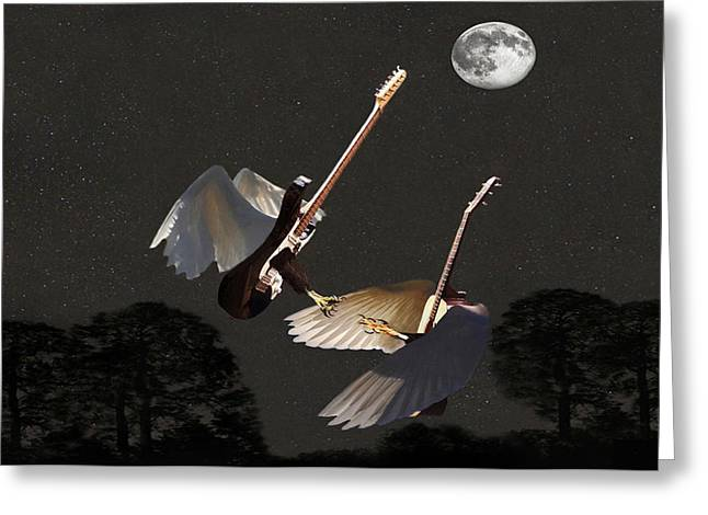Rock Angels  Greeting Card by Eric Kempson