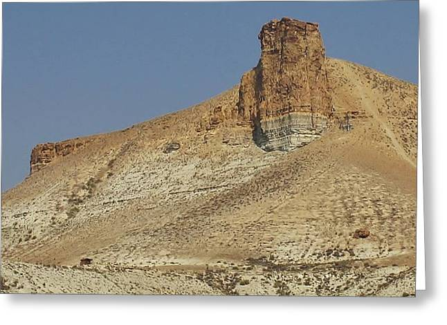 Rock Formations Of Wyoming Greeting Card by Bruce Bley