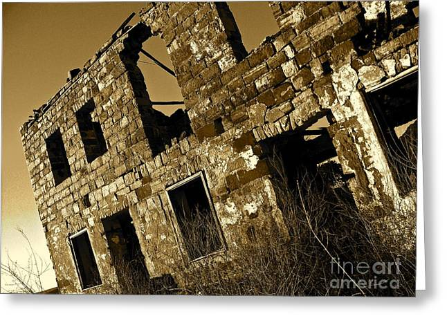 Llano Greeting Cards - Rock House Ruins Greeting Card by Chuck Taylor