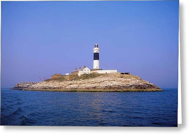 Rockabill, Off Skerries, Co Dublin Greeting Card by The Irish Image Collection