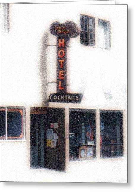 The Western Hotel Greeting Cards - Rockabilly Heaven Greeting Card by Everett Bowers