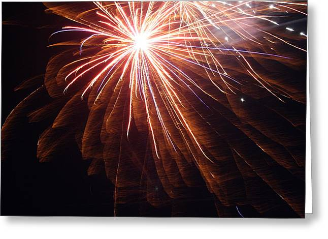 4th July Greeting Cards - Rockets Red Glare Greeting Card by Heidi Yost