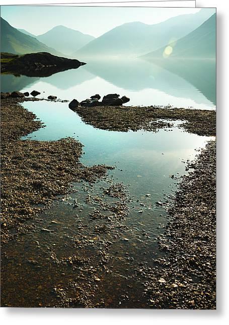 Rocks On The Beach Greeting Card by Svetlana Sewell