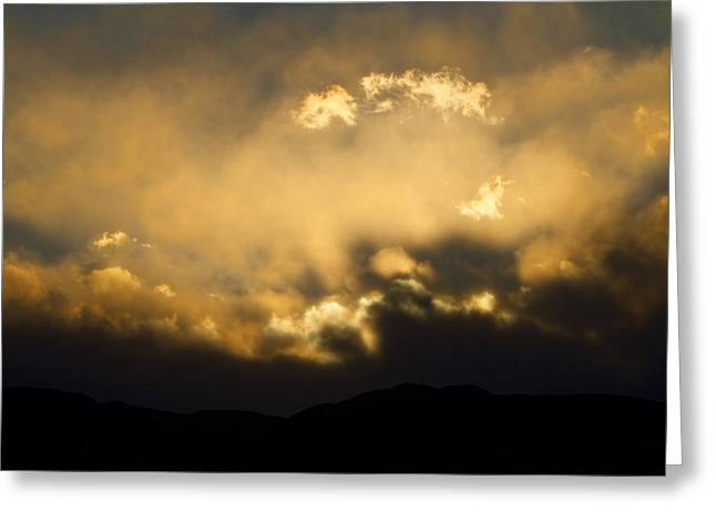 Sunset Greeting Cards Greeting Cards - Rocky Mountain Continental Divide Sunset Greeting Card by James BO  Insogna