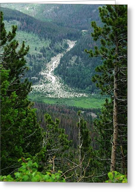 Rocky Mountain National Park Framed Prints Greeting Cards - Rocky Mountain National Park Greeting Card by Dottie Gillespie