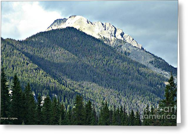 Rocky Mountains Greeting Cards Greeting Cards - Rocky Mountains British Columbia Canada Greeting Card by Jayne Logan Intveld