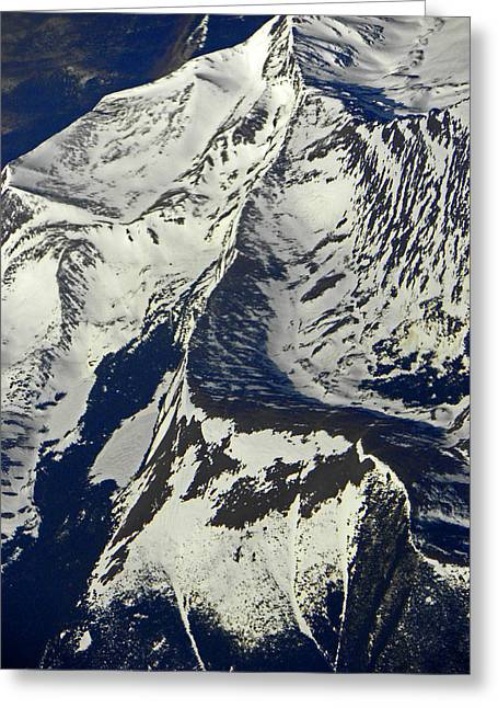 Snow Capped Greeting Cards - Rocky Mountains I Greeting Card by Elizabeth Hoskinson