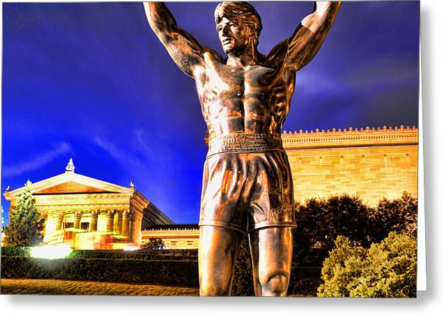ROCKY Greeting Card by Paul Ward