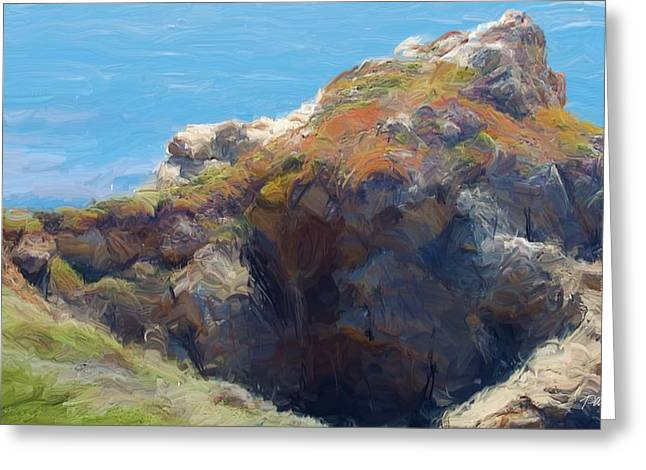 Big Sur California Greeting Cards - Rocky Point Big Sur CA Greeting Card by Jim Pavelle