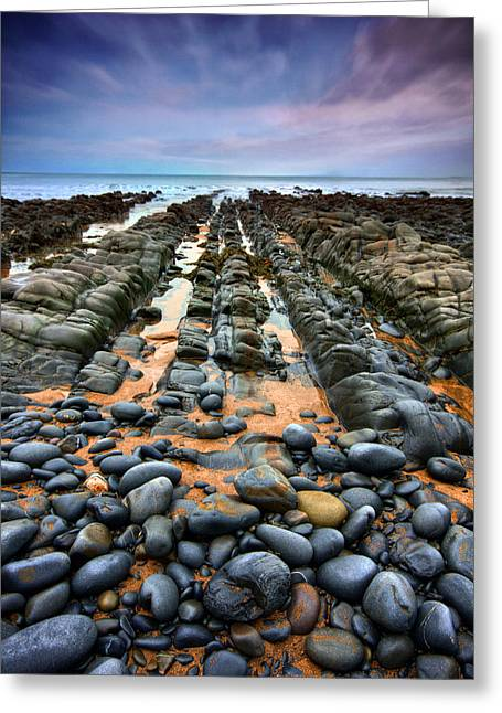 Beach Decor Posters Greeting Cards - Rocky Road to Nowhere Greeting Card by Mark Leader