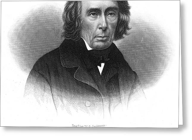 ROGER B. TANEY (1777-1864) Greeting Card by Granger