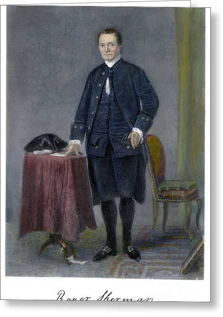 Roger Sherman (1721-1793) Greeting Card by Granger