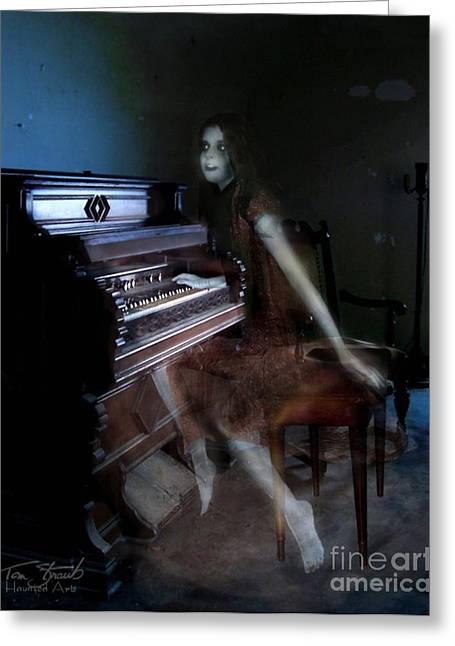 Paranormal Digital Art Greeting Cards - Rolling Hills Organ Greeting Card by Tom Straub