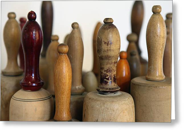 Rolling Pin Greeting Cards - Rolling Pin Greeting Card by Falko Follert