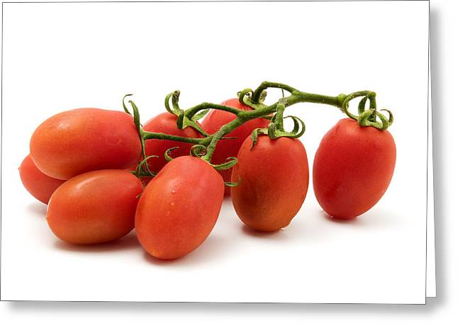 Cut-outs Greeting Cards - Roma Tomato Greeting Card by Fabrizio Troiani