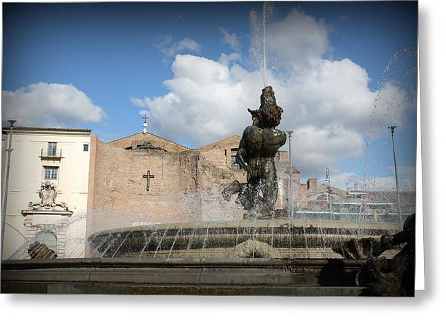 Rome Greeting Cards - Roman Baths Greeting Card by Kevin Flynn