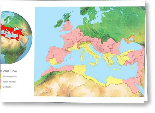 Roman Empire, Artwork Greeting Card by Gary Hincks