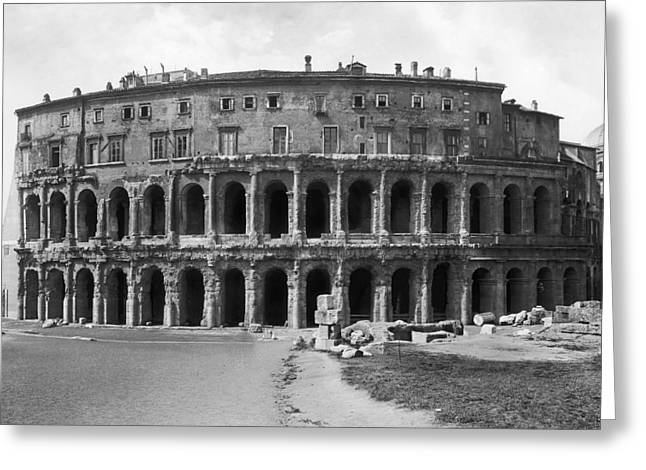 Marcelli Greeting Cards - Rome: Theater Of Marcellus Greeting Card by Granger