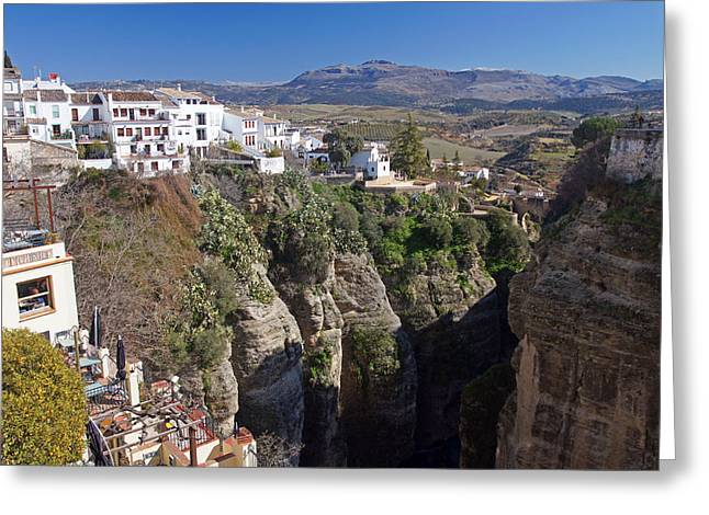 Serrania Greeting Cards - Ronda 2 Greeting Card by Rod Jones