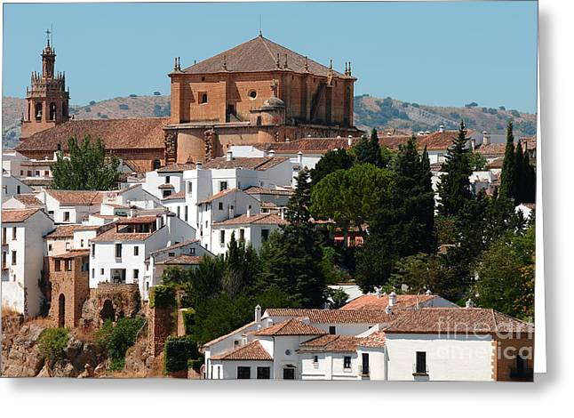 D300 Greeting Cards - Ronda. Andalusia. Spain Greeting Card by Jenny Rainbow