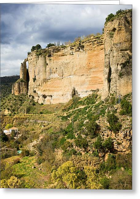 Southern Province Greeting Cards - Ronda Rock in Andalusia Greeting Card by Artur Bogacki