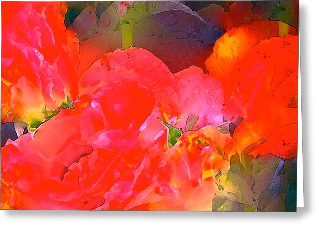 Rose 144 Greeting Card by Pamela Cooper