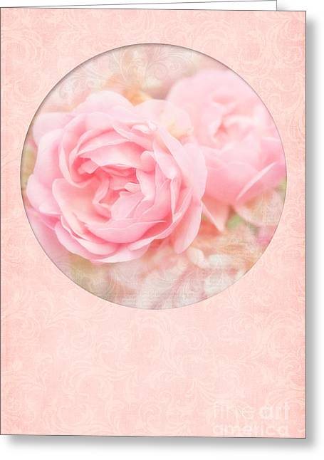 Mother Gift Greeting Cards - Rose Garden Greeting Card by Viaina