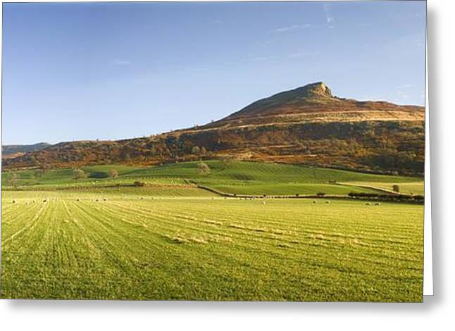 Us Open Photographs Greeting Cards - Roseberry Topping Hill, North York Greeting Card by John Short