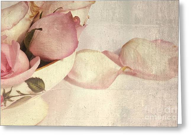 Artistic Photography Greeting Cards - Roses Greeting Card by Sophie Vigneault